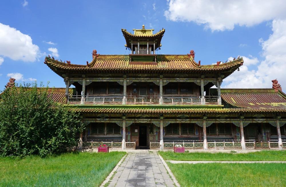 visiter oulan bator : musée du temple Choijin Lama