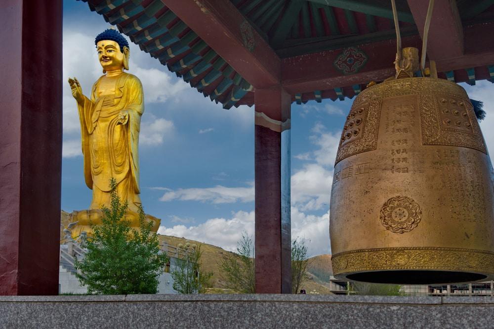 le parc Bouddha