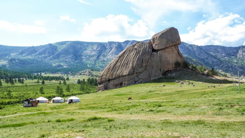 visiter oulan bator : le Terelj National Park