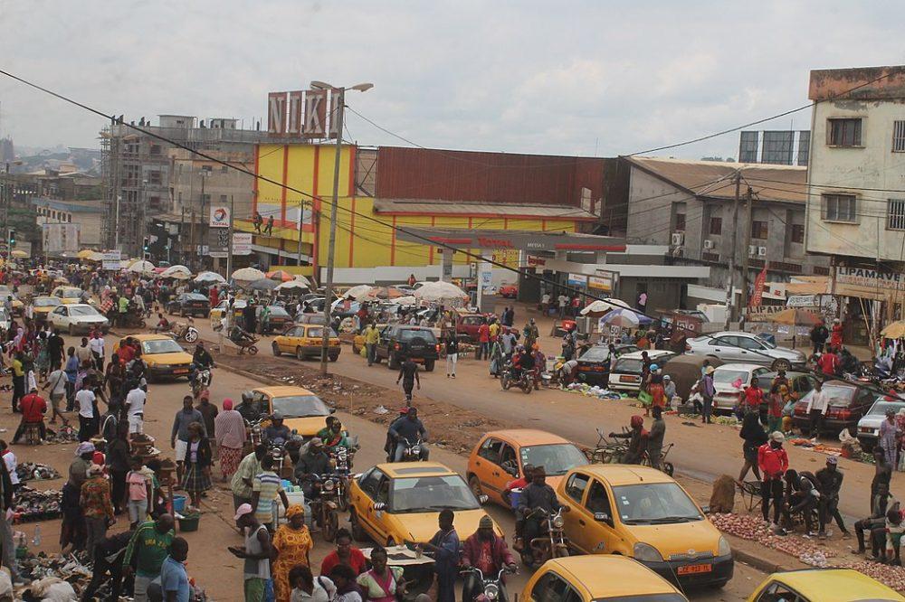 visiter Yaoundé : le marché Mokolo