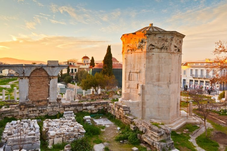 Agora romaine d'Athènes