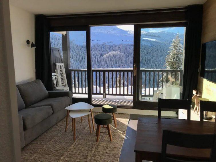 Appartement à 20m des pistes, avec piscine + sauna