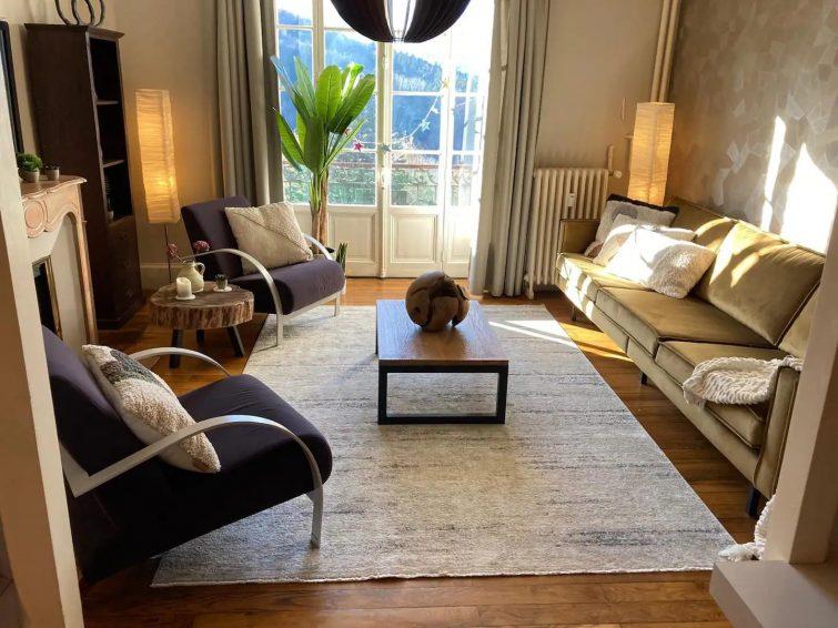 airbnb à saint-gervais