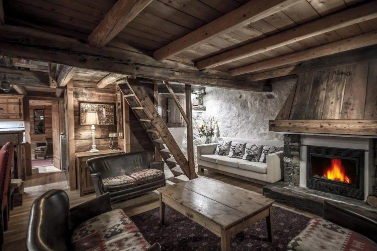 WE Chalet ferme la FRUITIERE sauna remontée à 200m