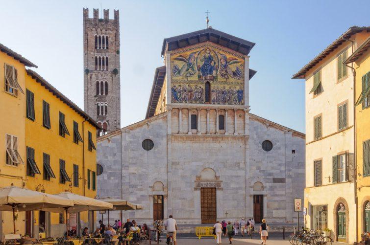 visiter Lucques : La basilique San Frediano