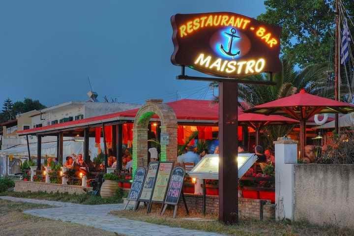 Κέρκυρα εστιατόρια: Maistro Restaurant-Bar