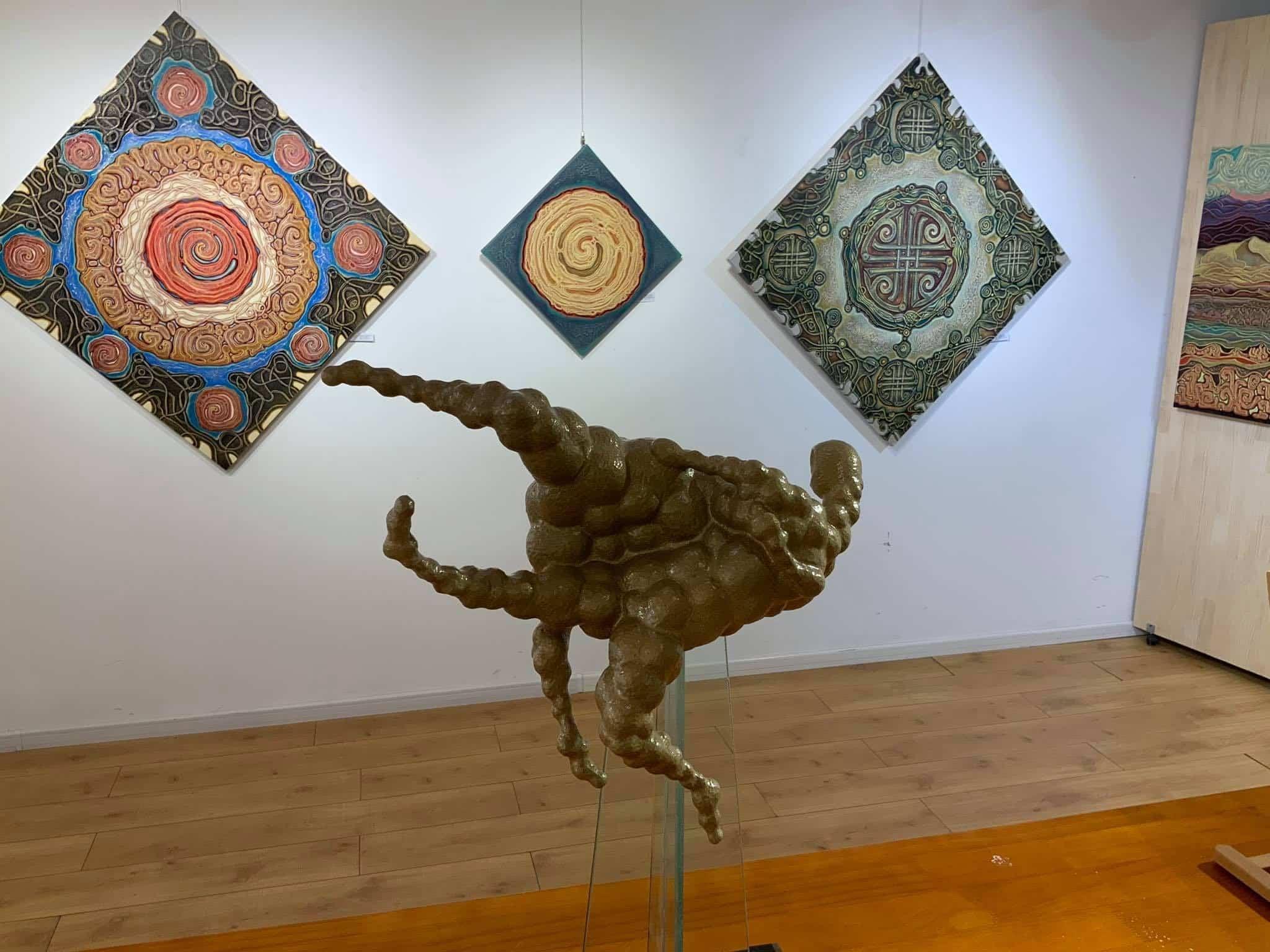 visiter oulan bator : la galerie Altan Khaan