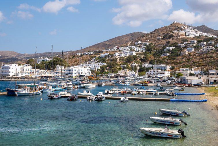 Ios - excursions Santorin