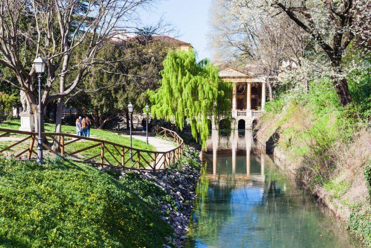 Le jardin Salvi - visiter Vicence