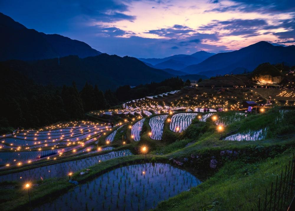 rizières de Maruyama - photos Japon