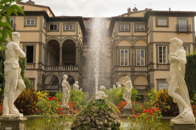 visiter Lucques : Le Palazzo Pfanner