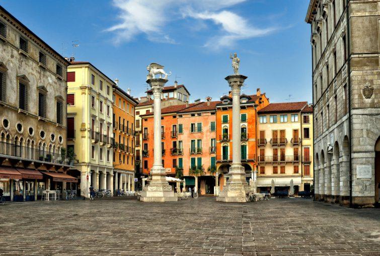 La piazza dei Signori - visiter Vicence