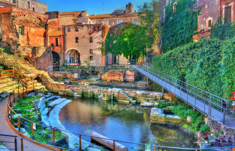 Road Trip Sicile : Catane, la ville noire