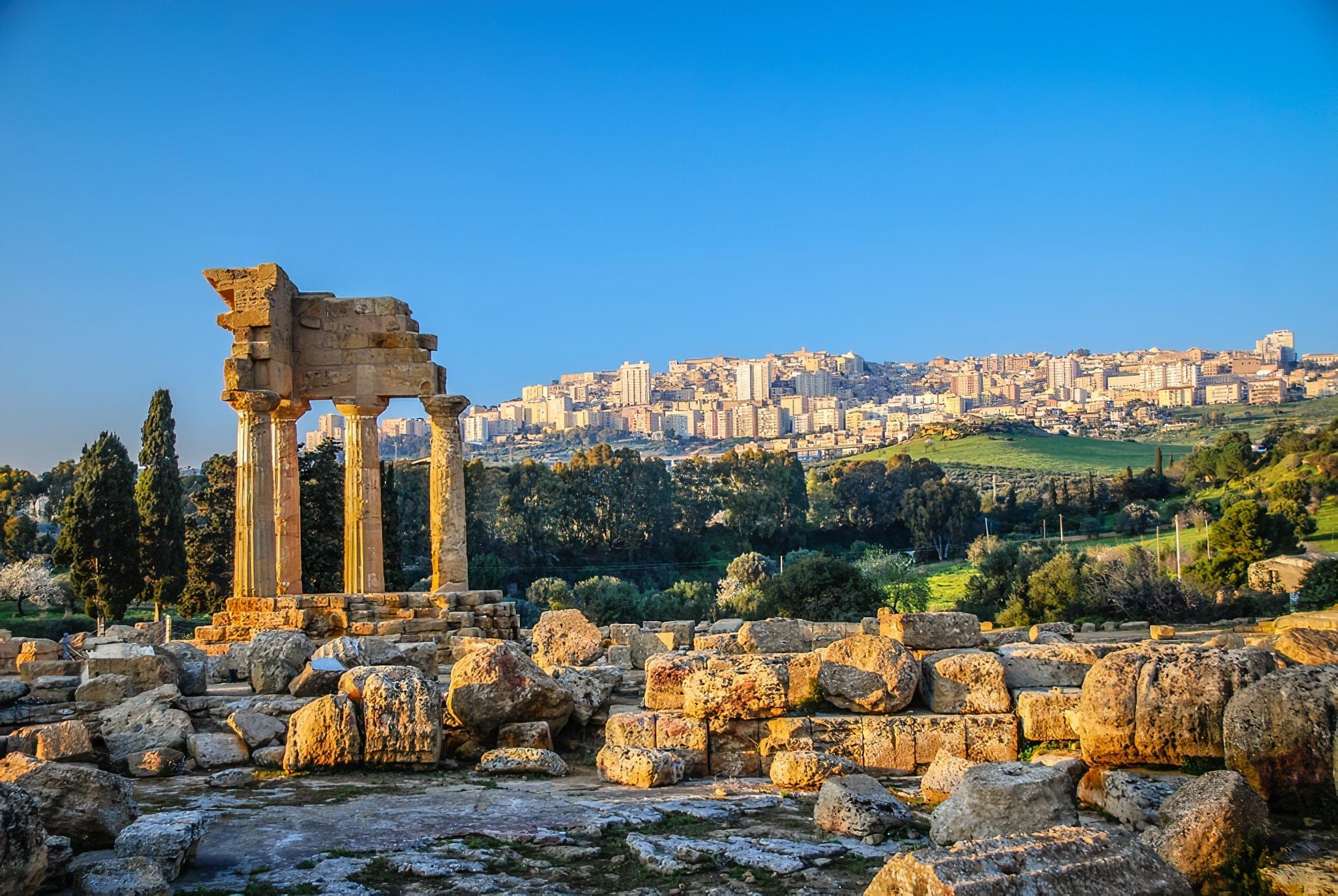 Road trip Sicile : Agrigente