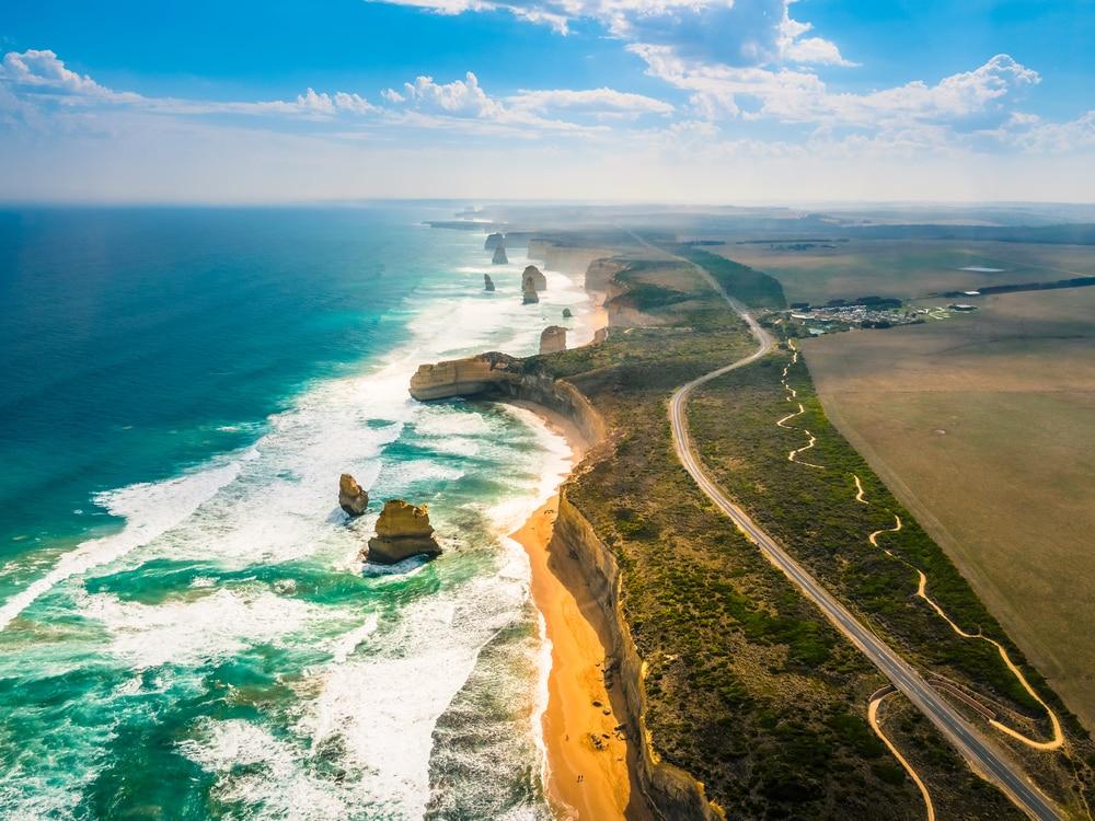Great Ocean Road - belles routes monde
