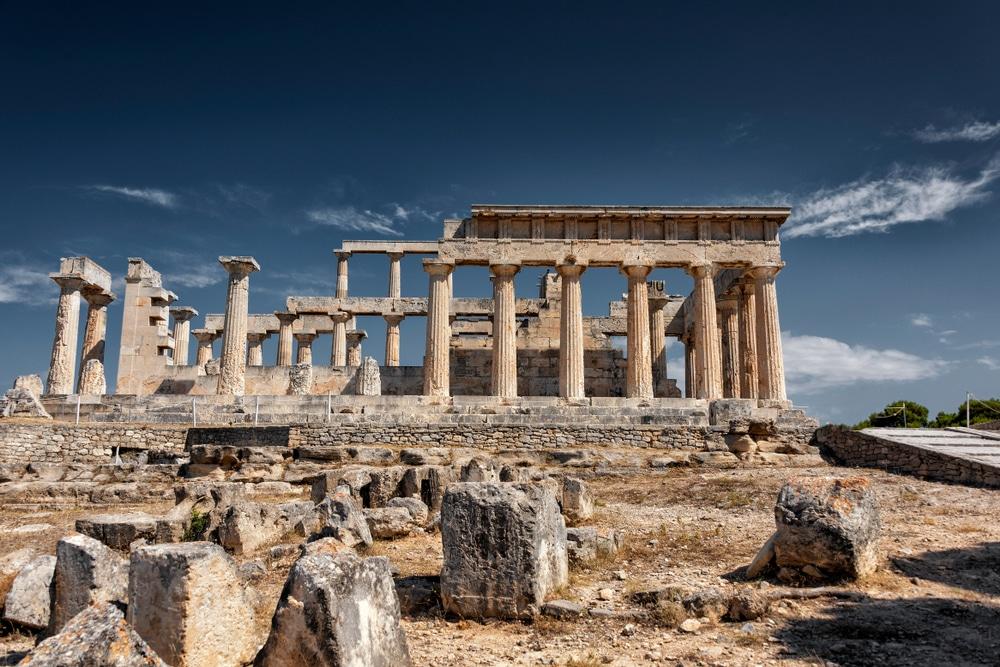 Temple d'Aphaïa-visiter egine