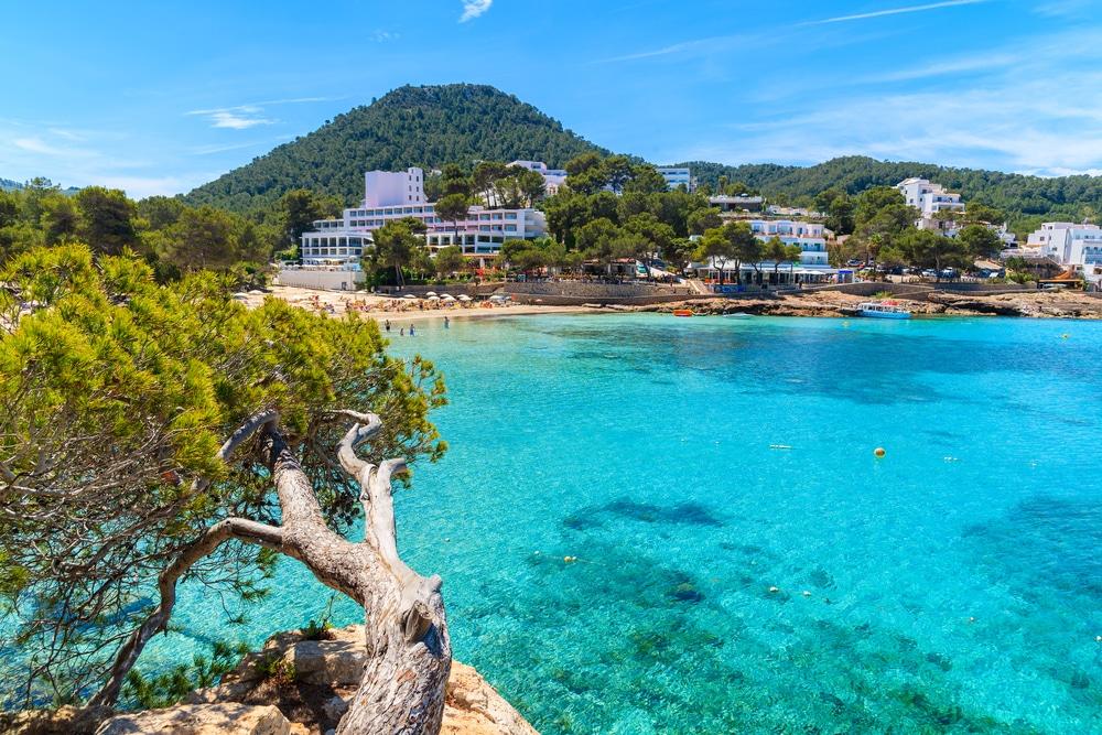 Sortir à Ibiza : Baie de Portinatx