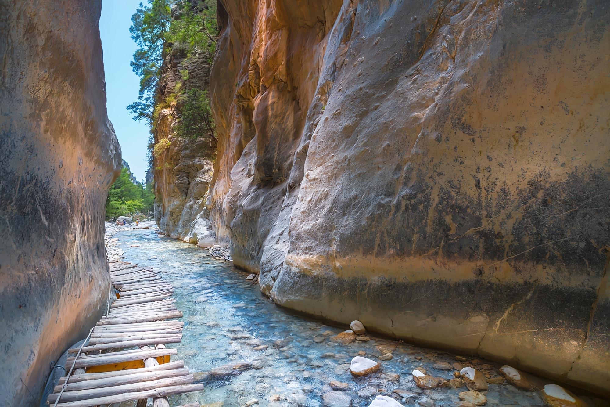 Visiter Héraklion : Gorges de Samaria