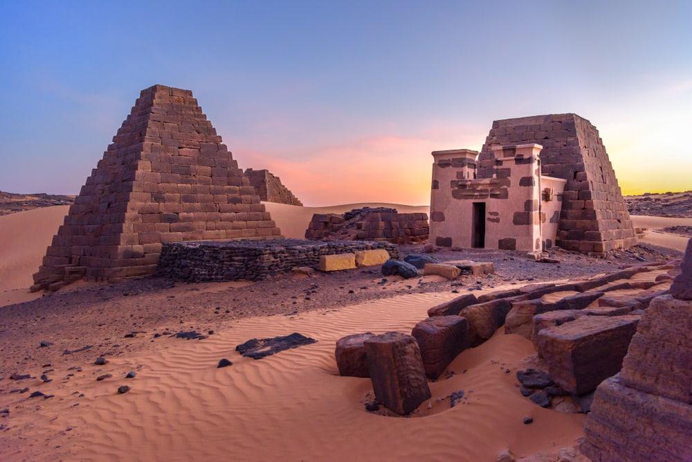 Soudan - grands pays afrique