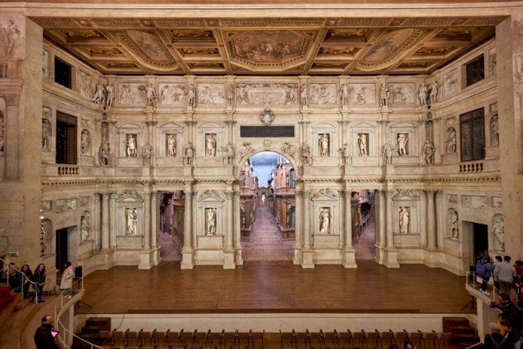 Le théâtre Olympique - visiter Vicence