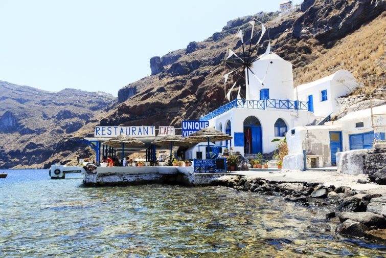 Thirassía - excursions Santorin