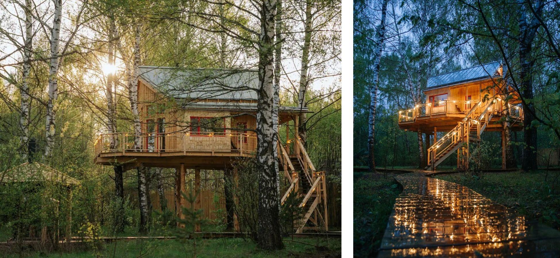Cabane dans les arbres - Russie
