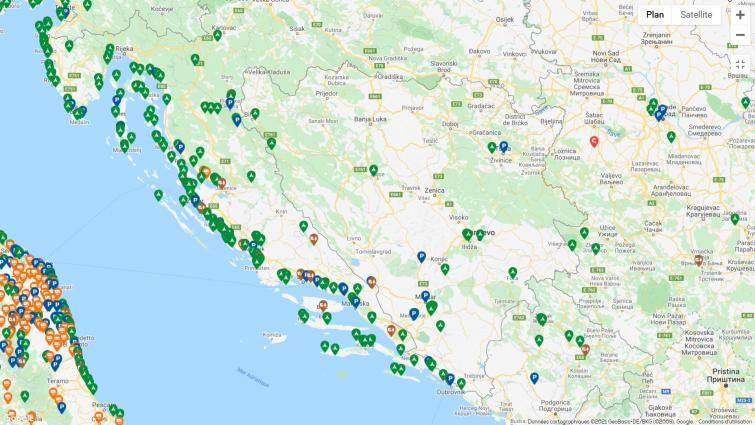 Les aires de camping-car en Bosnie : où stationner ?