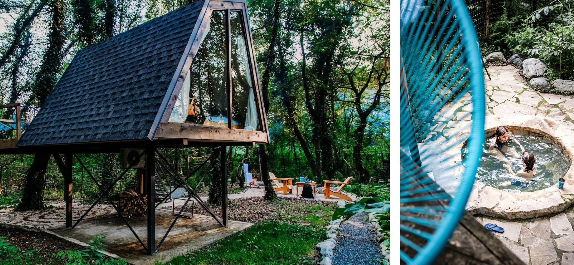 Cabane dans les arbres - Géorgie