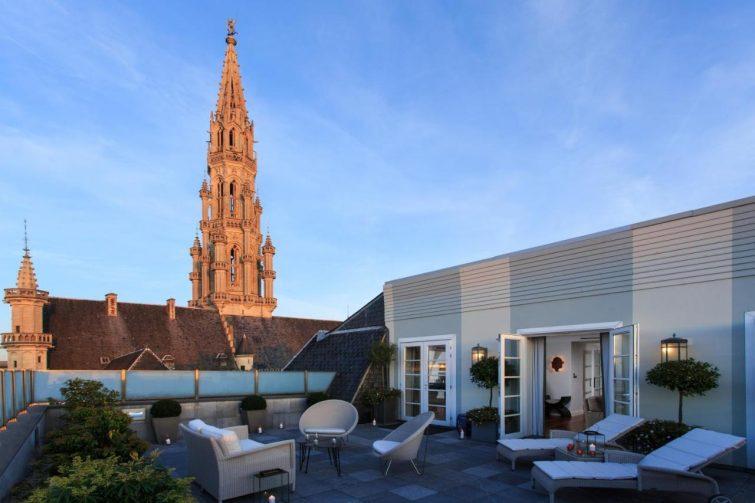 meilleurs hôtels à Bruxelles : Rocco Forte Amigo