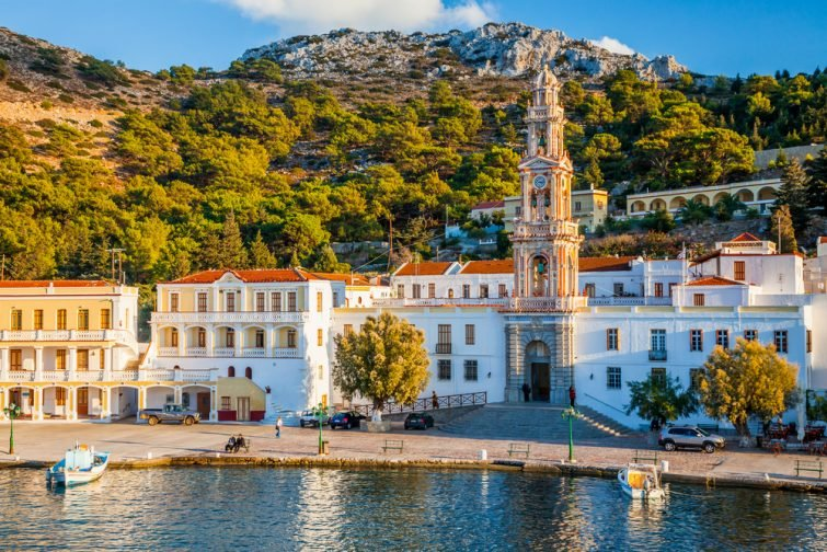 Monastère Panormitis - visiter Symi
