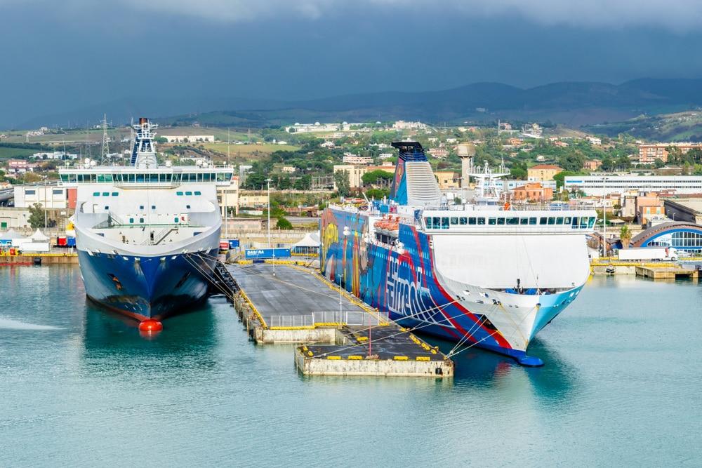 grands ports monde : Civitavecchia