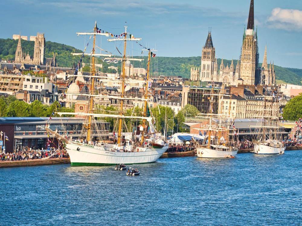 Port Rouen - grands ports france