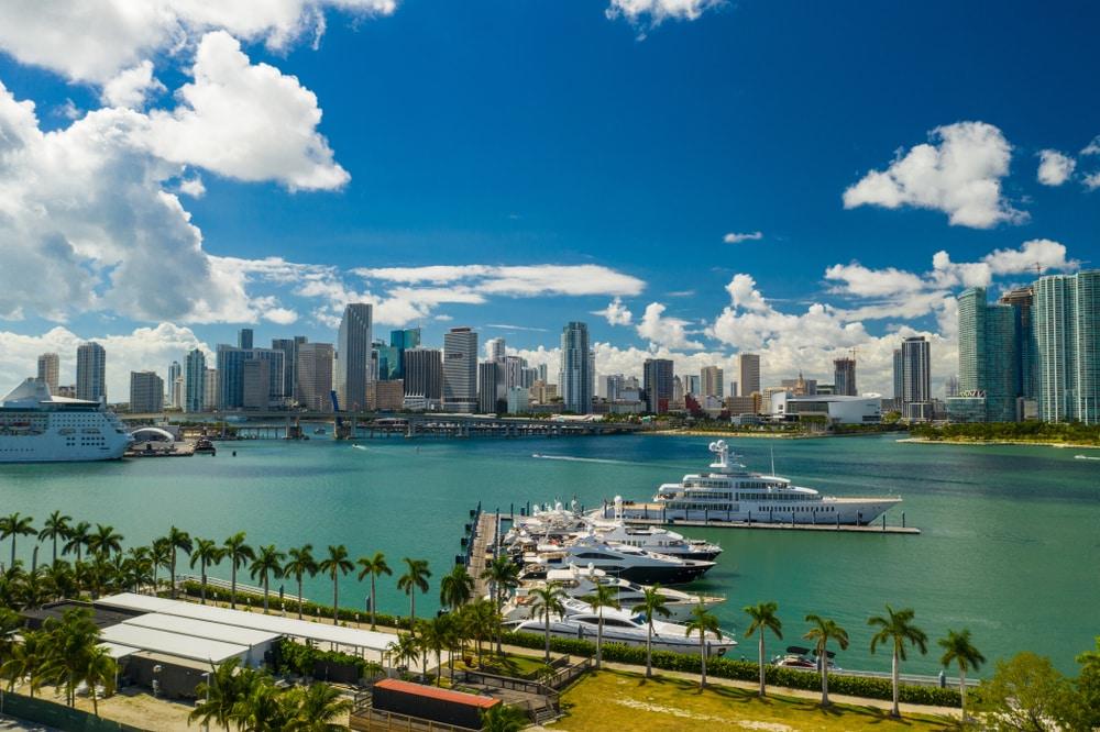 grands ports monde : Miami harbor