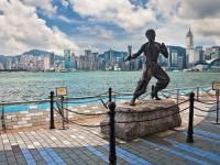 Statue de Bruce Lee