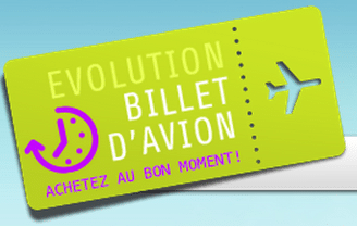 Evolution Billet Avion : alerte, prix bas !