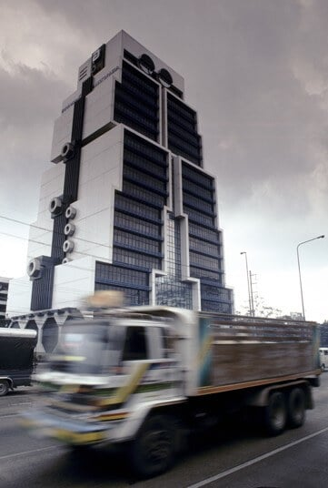 Le building robot, Bangkok, Thaïlande