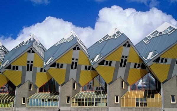 Les maisons cubiques, Rotterdam, Pays-Bas