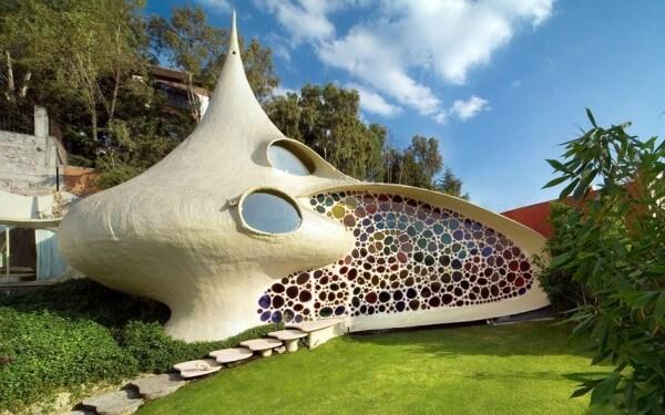 La maison Nautilus, Mexico, Mexique