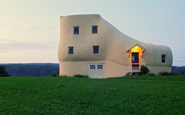 La maison chaussure, Hallem, Pennsylvania, USA
