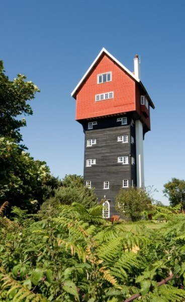 La maison dans les nuages, Thorpeness, Suffolk, Royaume-Uni