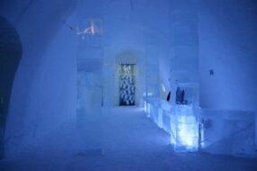Ice hotel en Suède
