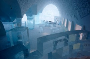 Ice hôtel en Suède