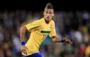 Neymar contre Belgique