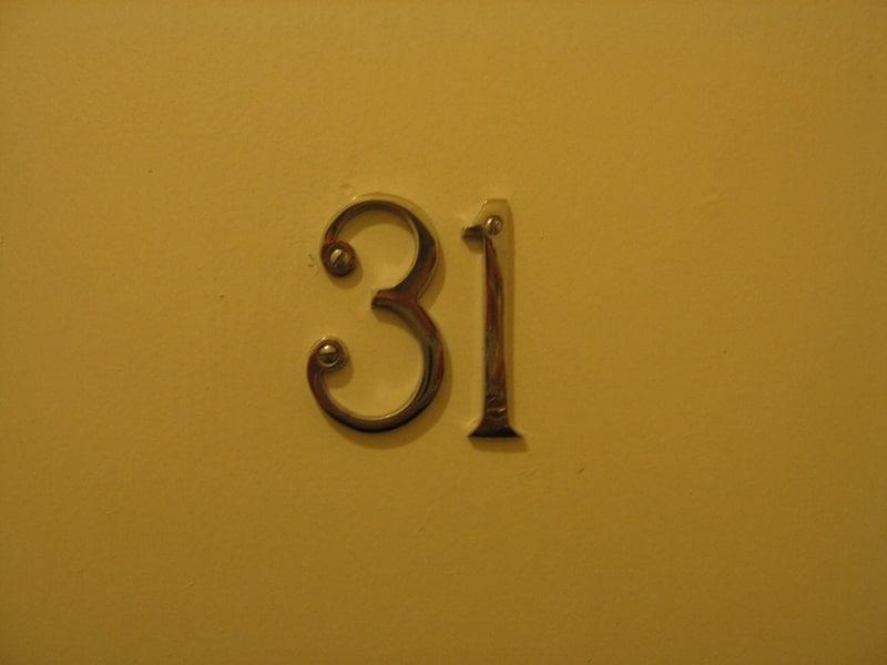 Numero de chambre