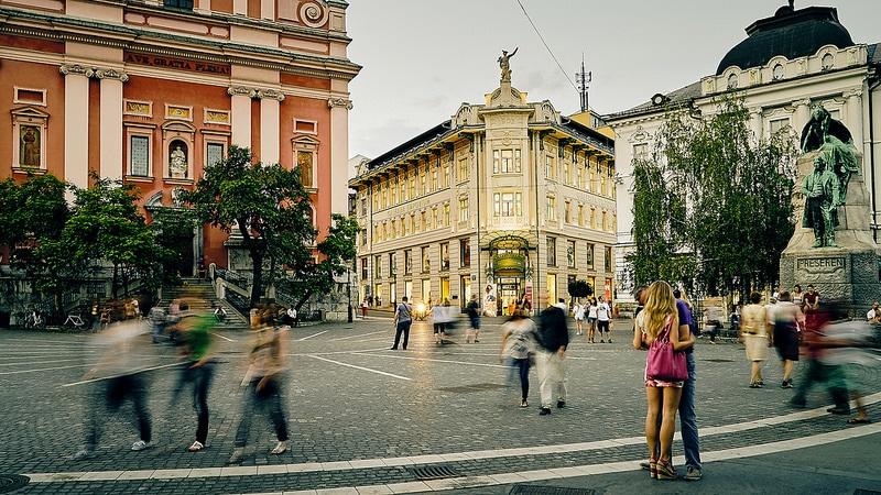 Parler anglais à Ljubljana