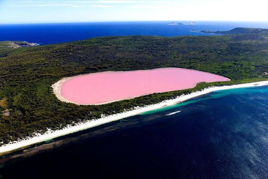 Lac Hillier, Australie