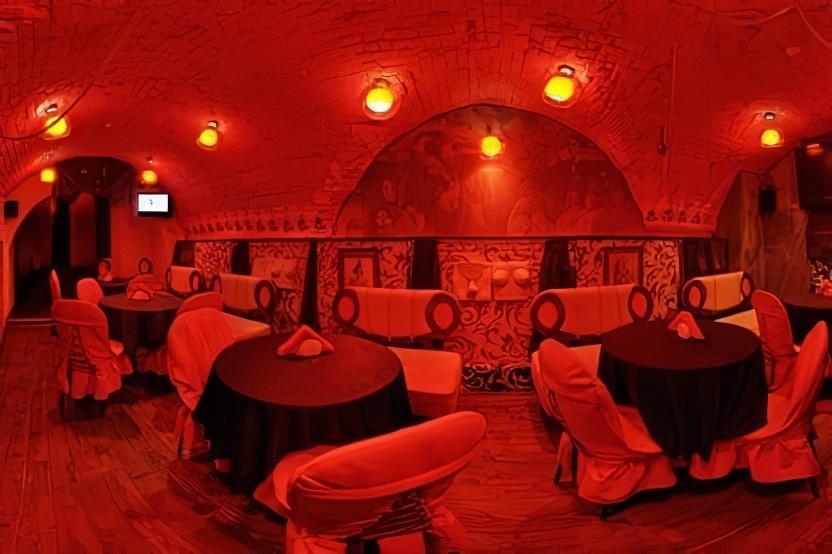 Le Bar Mazoch à Lviv
