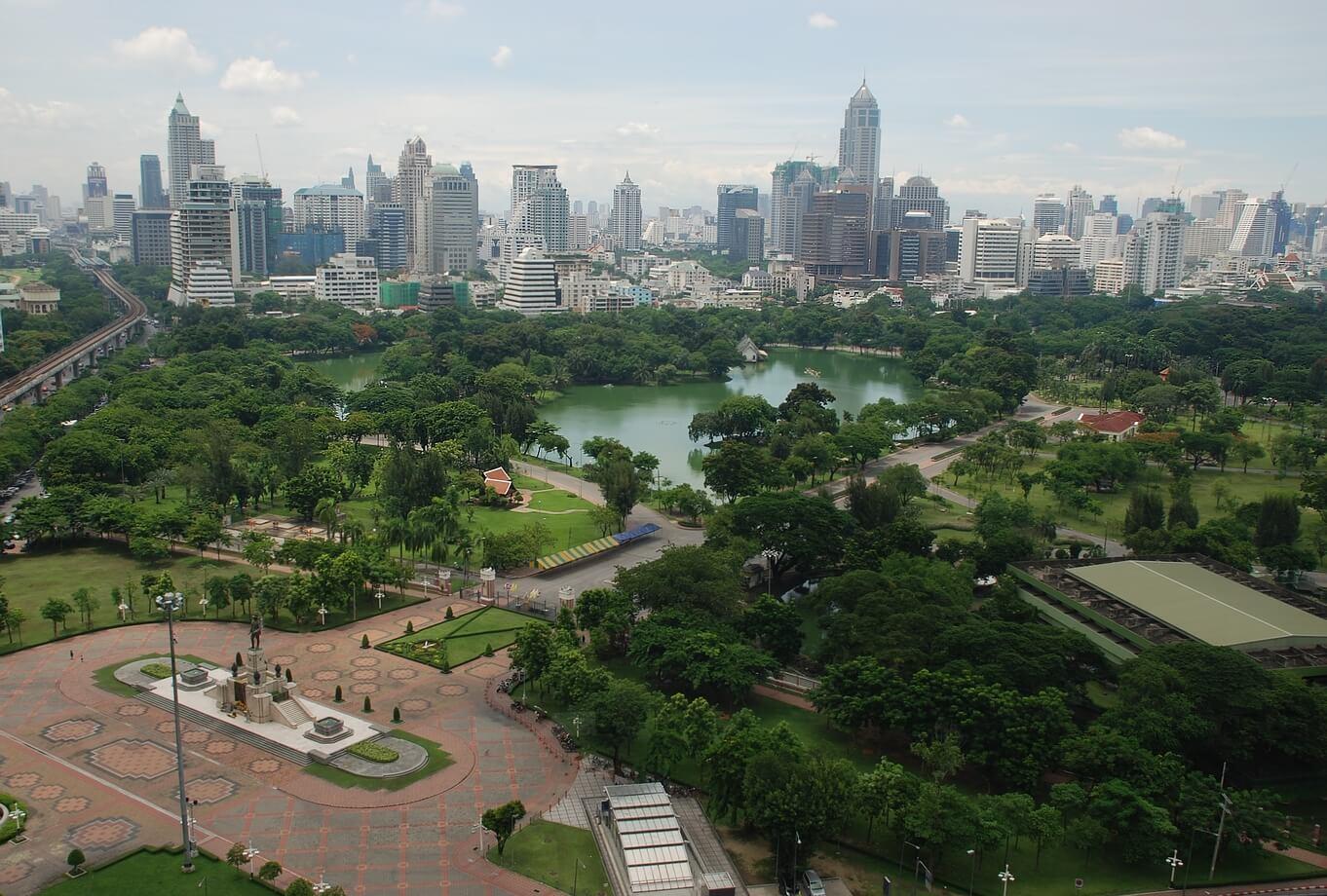 parc lumpini, Bangkok