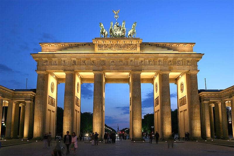 porte de bandebourg Berlin
