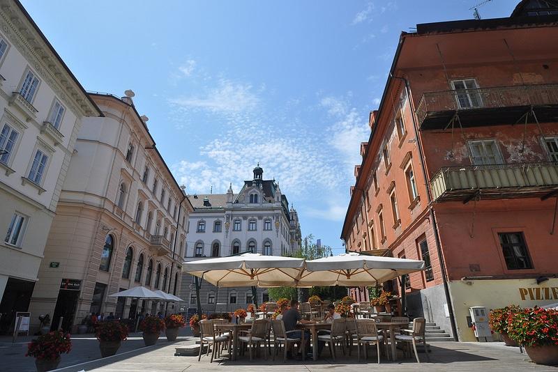 Restaurant à Ljubljana